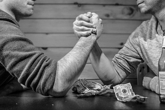 ギャンブルでお金がない人の2つの要因