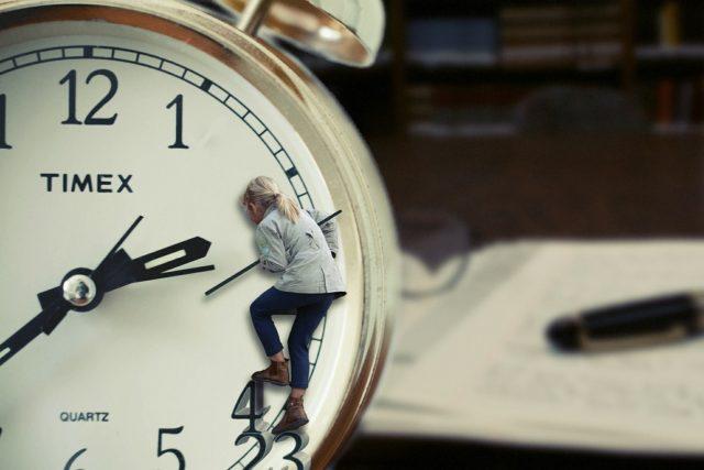 時間は自分の命のカウントダウン